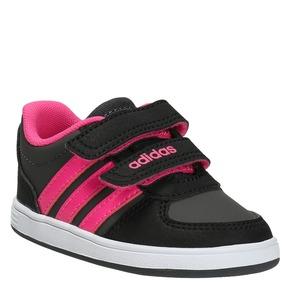 Sneakers da bambina con chiusure a velcro adidas, rosso, 101-5254 - 13