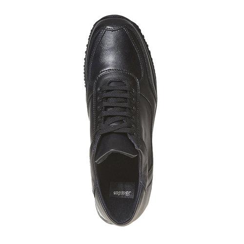 Sneakers da donna in pelle bata, nero, 524-6560 - 19
