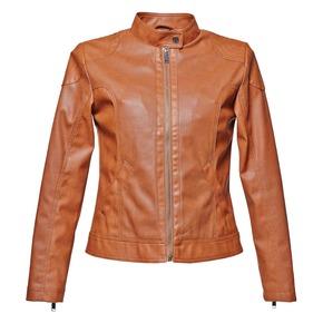 Giacca da donna con perforazioni bata, marrone, 971-3113 - 13