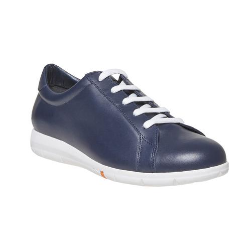 Sneakers da donna in pelle flexible, blu, 524-9597 - 13