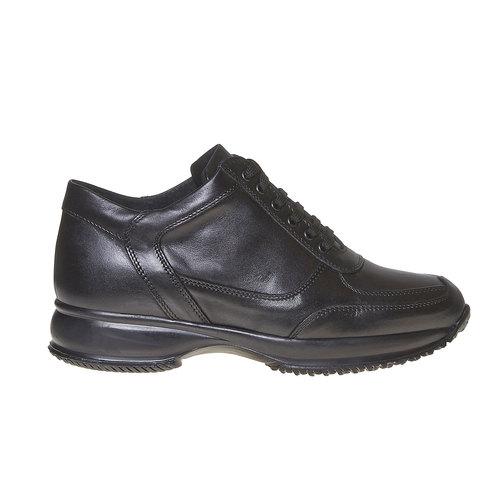 Sneakers da donna in pelle bata, nero, 524-6560 - 15