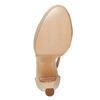 Sandali color carne con tacco bata, beige, 724-8708 - 26