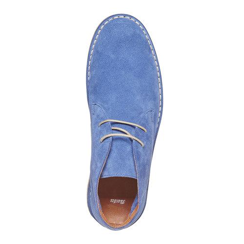 Scarpe in pelle da uomo alla caviglia bata, 843-0267 - 19