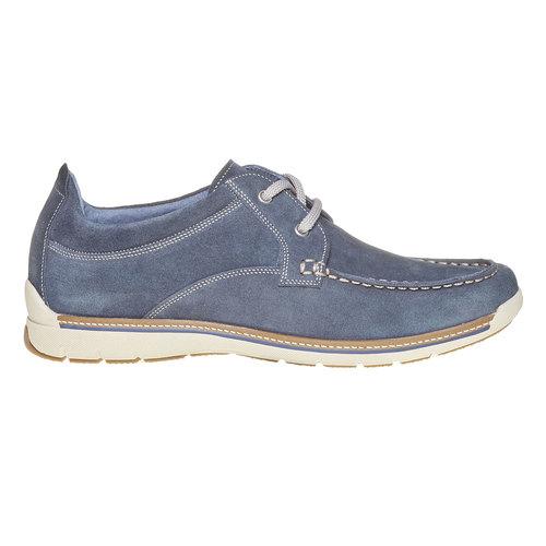Sneakers informali da uomo bata, blu, 843-9297 - 15