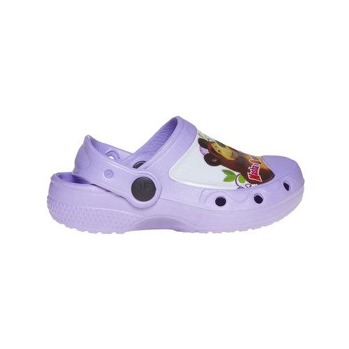 Sandali da bambina con stampa, viola, 272-9152 - 15
