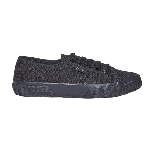 Sneakers nere da donna superga, nero, 589-6687 - 15
