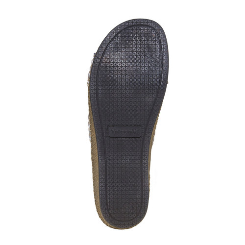 Slip-on in pelle da donna, blu, 574-9320 - 26