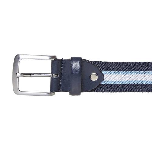 Cintura blu da uomo bata, blu, 959-9285 - 26