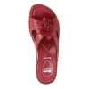Pantofole da donna in pelle, rosso, 674-5121 - 19