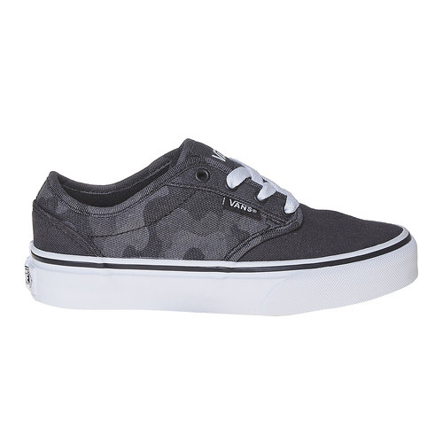 Sneakers da bambino con motivo vans, nero, 489-6101 - 15