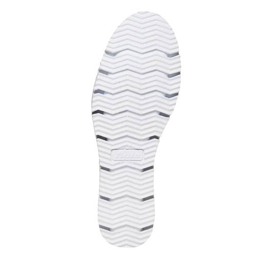 Slip-on in pelle con perforazioni, viola, 513-9291 - 26