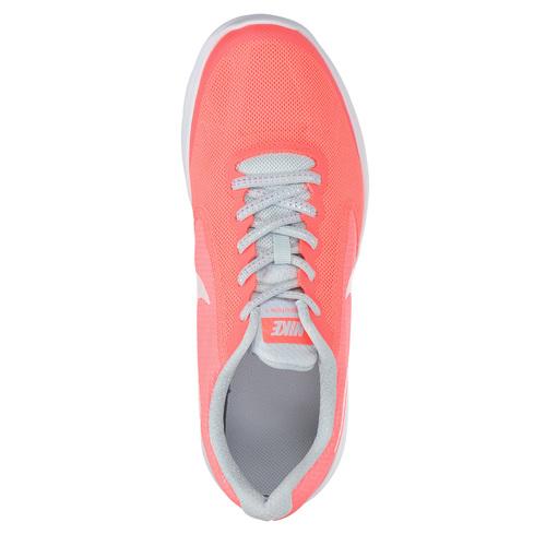 Sneakers rosa da ragazza nike, rosso, 409-5149 - 19