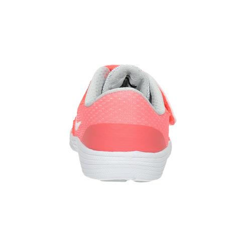Sneakers rosa da ragazza nike, rosso, 109-5549 - 17