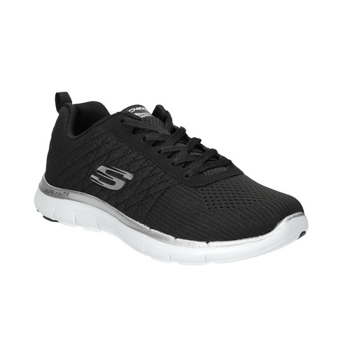 Sneakers con memory foam skechers, nero, 509-6965 - 13