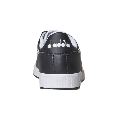 Sneakers informali da uomo diadora, nero, 801-6179 - 17