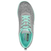 Sneakers con memory foam skechers, grigio, 509-2965 - 19