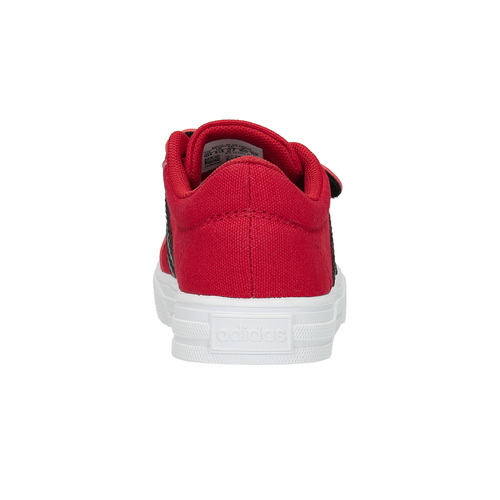 Sneakers rosse con chiusure a velcro adidas, rosso, 189-5119 - 17