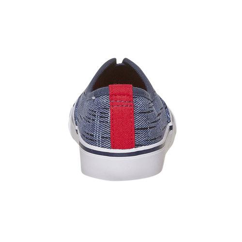Scarpe da bambino in stile Slip-on north-star, blu, 319-9154 - 17
