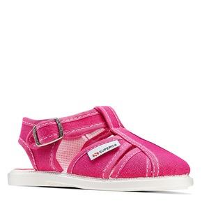 Sandali rosa da bambina superga, rosso, 169-5142 - 13