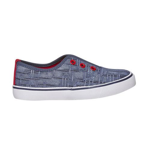 Scarpe da bambino in stile Slip-on north-star, blu, 319-9154 - 15
