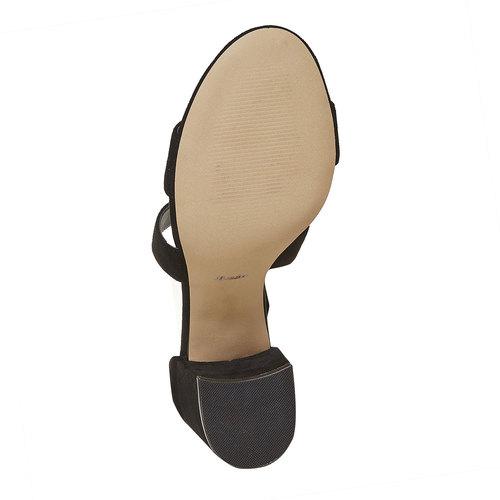 Sandali neri da donna insolia, nero, 769-6213 - 26