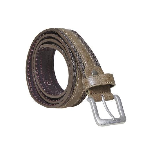 Cintura marrone da uomo bata, viola, 959-9284 - 13