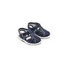 Sandali da bambino con cuciture superga, blu, 169-9142 - 16