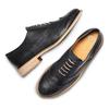 Scarpe basse da donna Oxford in pelle bata, nero, 524-6482 - 26