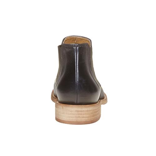 Scarpe in pelle alla caviglia bata, nero, 594-6432 - 17