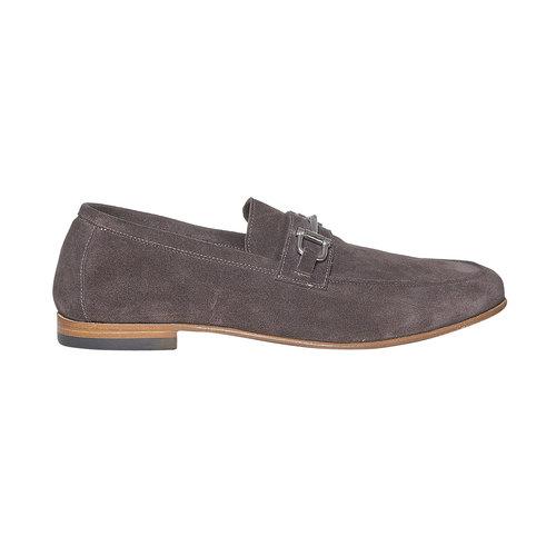Mocassini da uomo in pelle bata-the-shoemaker, marrone, 853-4269 - 15