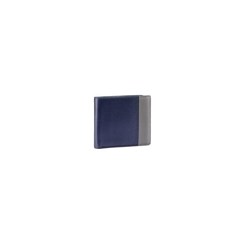 Portafoglio da uomo con dettaglio a contrasto bata, viola, 944-9151 - 13
