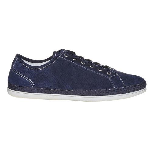 Sneakers in pelle da uomo bata, blu, 843-9275 - 15
