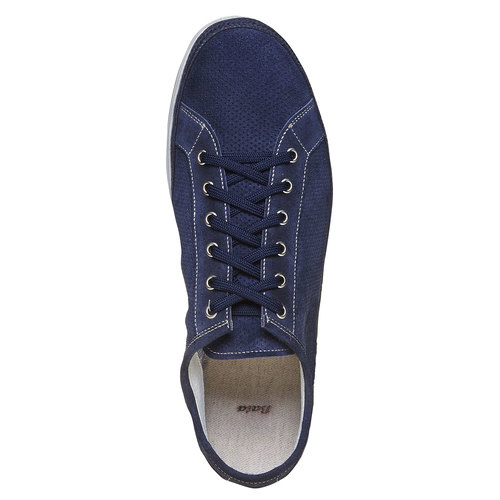 Sneakers in pelle da uomo bata, blu, 843-9275 - 19