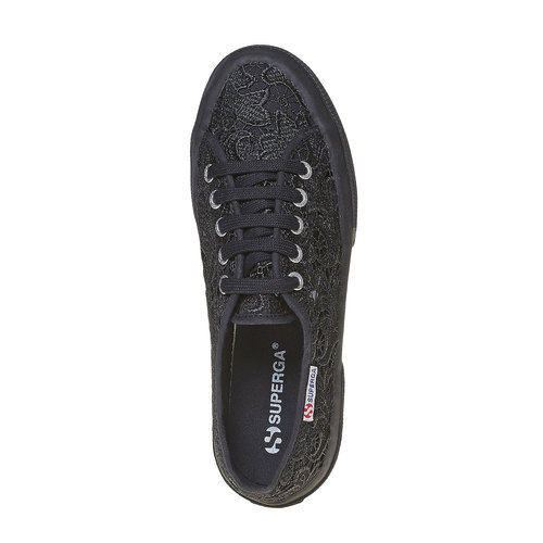 Sport shoe  superga, nero, 589-6309 - 19