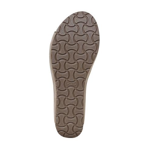 Sandali da donna con plateau bata, grigio, 669-2248 - 26