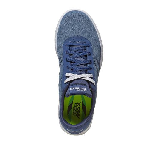 Sneakers blu da uomo skechers, blu, 889-9234 - 19