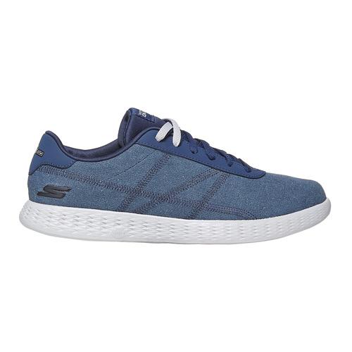 Sneakers blu da uomo skechers, blu, 889-9234 - 15