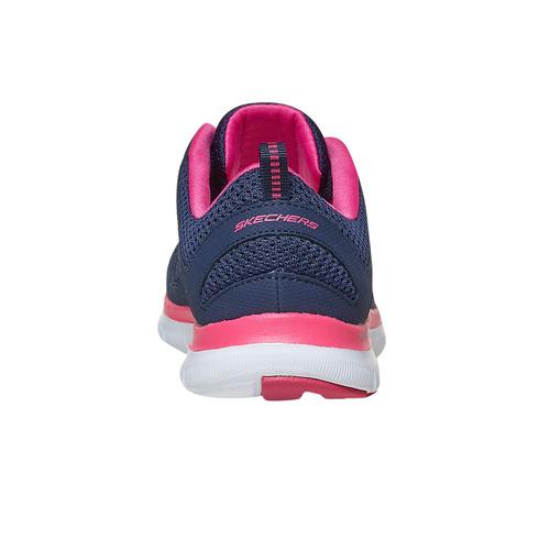 Sneakers sportive da donna skechers, blu, 509-5963 - 17