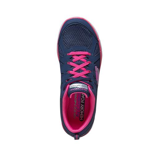 Sneakers sportive da donna skechers, blu, 509-5963 - 19