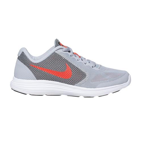 Sneakers sportive da bambino nike, grigio, 409-2149 - 15