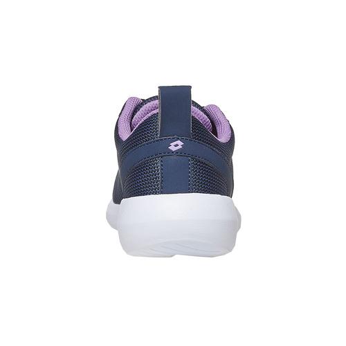 Sneakers blu da donna lotto, nero, 509-6952 - 17