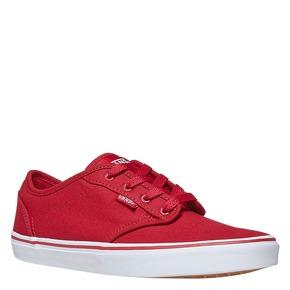 Sneakers rosse da bambino vans, rosso, 489-5101 - 13