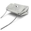 Minibag in vera pelle bata, argento, 964-2239 - 17