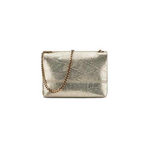 Minibag in vera pelle bata, oro, 964-4239 - 26