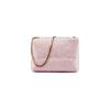 Minibag in vera pelle bata, rosa, 964-0239 - 26