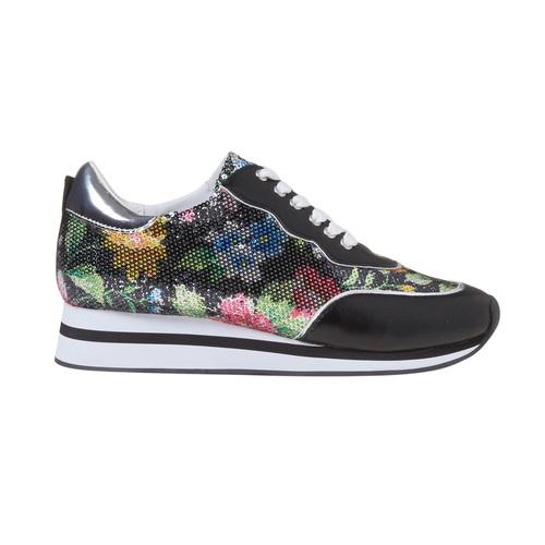 Sneakers con motivo floreale, 549-0157 - 15