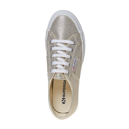 Sneakers dorate da donna superga, oro, 589-8187 - 19