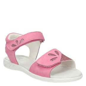 Sandali da bambina mini-b, rosa, 261-5188 - 13