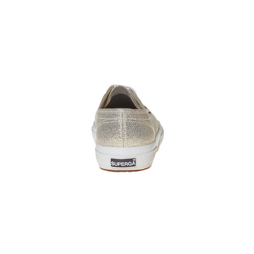 Sneakers dorate da donna superga, oro, 589-8187 - 17