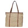 Borsetta in stile Shopper con tessuto a maglia bata, marrone, 969-8365 - 17